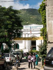 The Justinian University Hospital in Cap Haitien, Haiti.